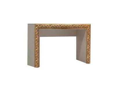 Стол туалетный ТФСТ-1(П) Тиффани Премиум Слоновая кость золото