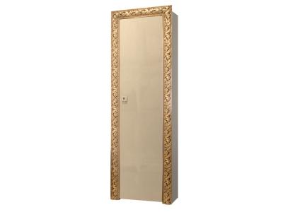 Пенал 1-но дверный левый/правый ТФП-1(П) Тиффани Премиум Капучино золото