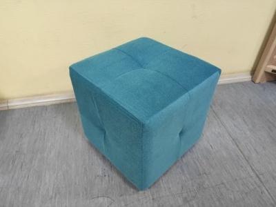 Пуф-Куб Shaggy Azure