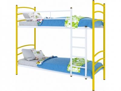 Кровать Милана duo желтая