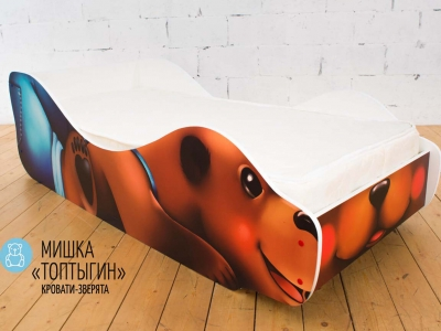 Детская кровать Мишка - Топтыгин