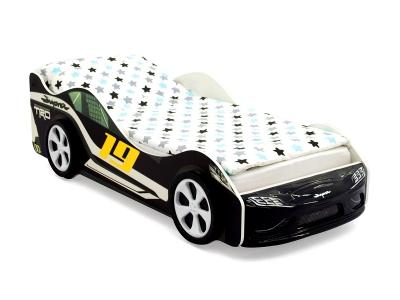 Кровать-машина Супра черная