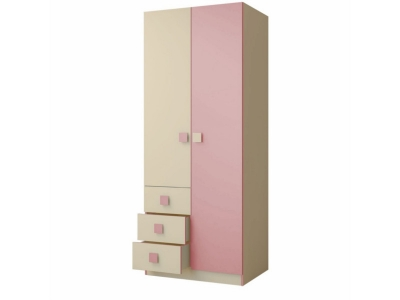 Шкаф 800 Радуга Фламинго