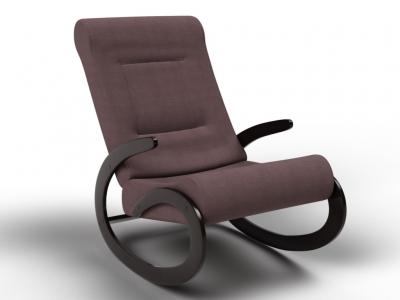 Кресло-качалка Мальта кофе с молоком