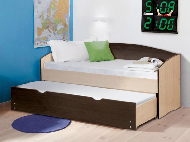 Кровать детская выдвижная Матрица лдсп