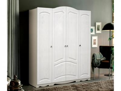 Шкаф 4-х дверный без зеркал Венеция 4