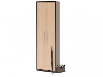 Шкаф распашной Сокол ШО-1 Венге/Беленый дуб