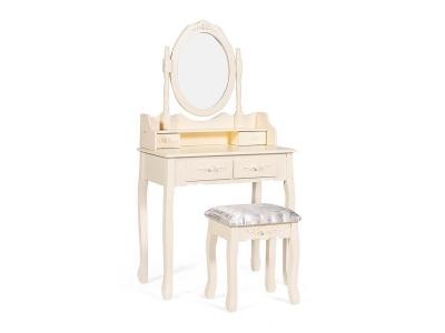 Туалетный столик с зеркалом и табуретом Secret De Maison Arno (mod. Hx18-263)