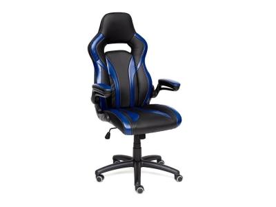 Кресло Rocket иск кожа Красный - Чёрный