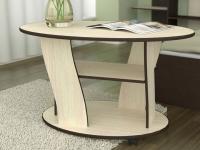 Журнальный столик Волна Дуб млечный - Венге