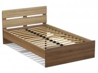 Кровать 120 Эксон с основанием Дуб сонома - Винтаж