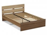 Кровать 140 Эксон с основанием Дуб сонома - Винтаж