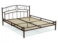 Кровать 160 Арго металлическая Венге