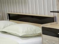 Кровать 160 Линда ПМ Дуб сонома - Шоколад