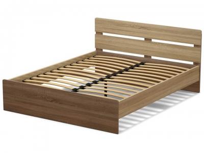 Кровать 160 Эксон с основанием Дуб сонома - Винтаж