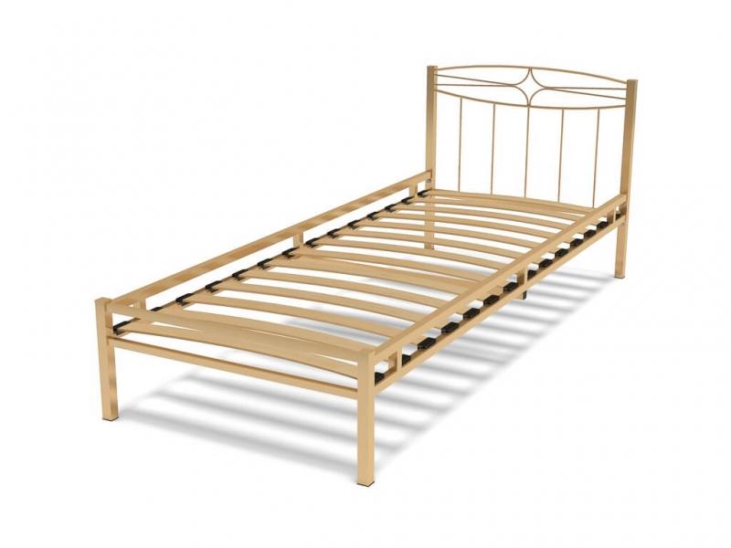 Кровать 80 Юнга-1 металлическая Крем