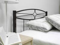 Кровать 90 Юнга-1 металлическая Венге
