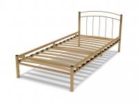 Кровать 90 Юнга-2 металлическая Крем