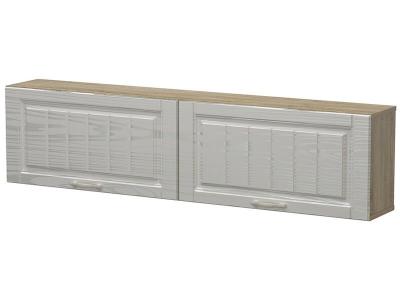 Полка с дверями Лаура Дуб сонома - МДФ Серебряное дерево