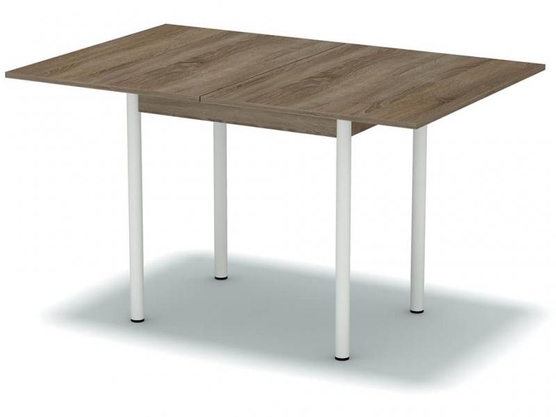 Стол обеденный раскладной Винтаж - ноги белые