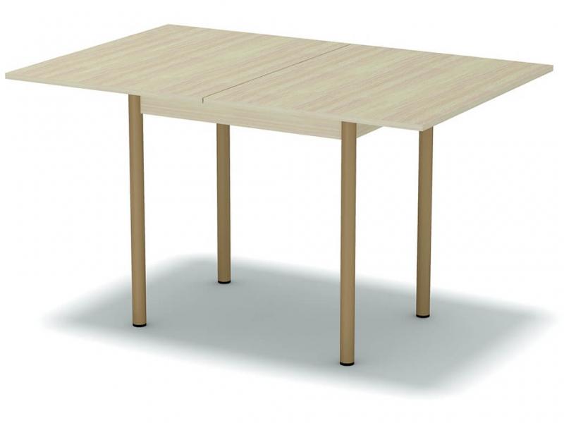 Стол обеденный раскладной Дуб млечный - ноги крем