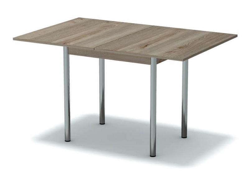 Стол обеденный раскладной Невис - ноги хром