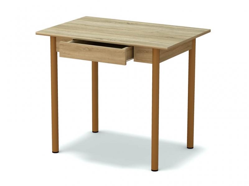 Стол обеденный с ящиком Дуб сонома