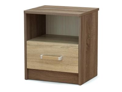 Тумба прикроватная Эксон с ящиком Винтаж - Дуб сонома