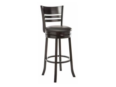 Барный стул Salon cappuccino - black