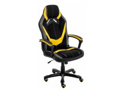 Стул Bens чёрное - серое - желтое