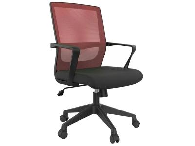 Компьютерное кресло Dikline XT81-16 сетка бордо