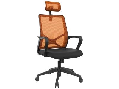 Компьютерное кресло Dikline XT83-14 сетка оранжевая