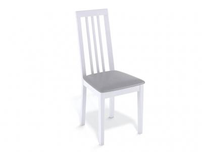Стул Kenner 130М белый/экокожа серый