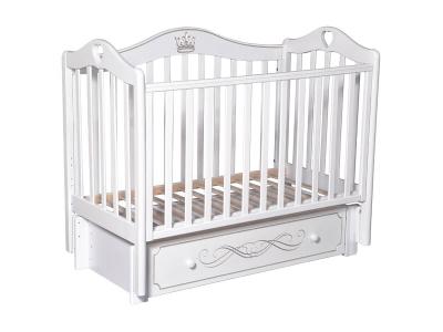 Детская кровать Karolina-8 белый