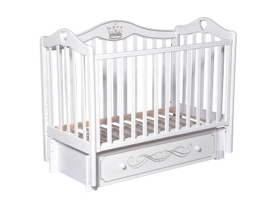 Детская кровать Karolina-9 белый