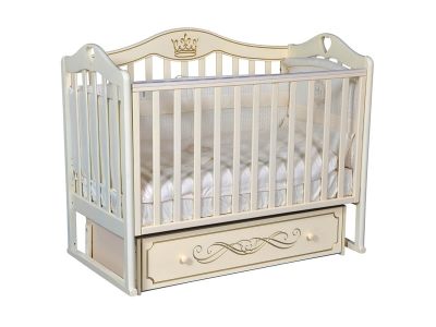 Детская кровать Karolina-9 слоновая кость