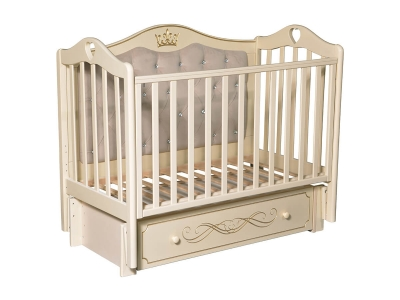 Детская кровать Karolina-10 слоновая кость