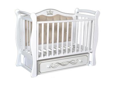 Детская кровать Olivia-1 белый