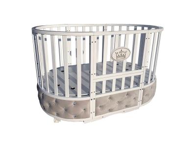Детская кровать Sofia Elegance 6 в1 белый