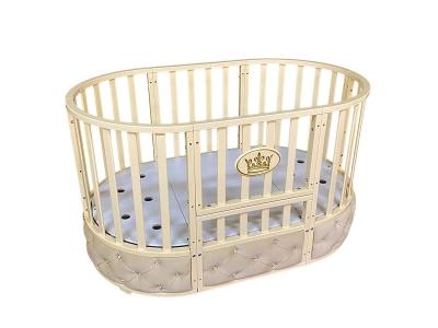 Детская кровать Sofia Elegance 6 в1 слоновая кость