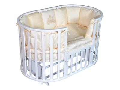 Детская кровать Sofia-2 6 в1 белый