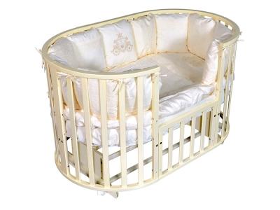 Детская кровать Sofia-2 6 в1 слоновая кость