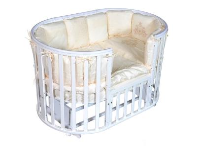 Детская кровать Sofia-4 6 в1 белый