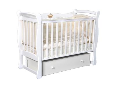 Детская кровать Viola-1 белый