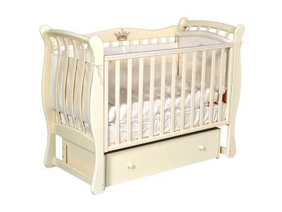 Детская кровать Viola-3 слоновая кость