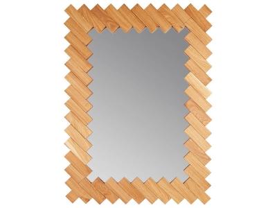 Зеркало Runden Дубовые планки V20083