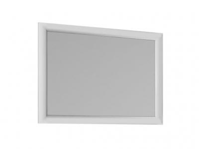 Зеркало Ницца белый глянец