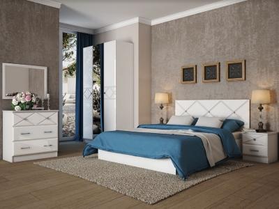 Спальня Ницца белый глянец