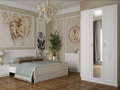 Спальня Магнолия белое дерево