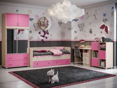 Детская Алёнка розовая